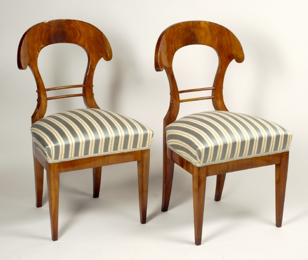 A Pair Of Biedermeier Chairs