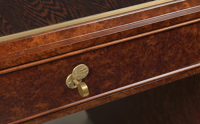 A French Art Deco Inspired Desk By Iliad Design Iliad