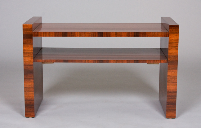 A Modernist Coffee Table In Santos Rosewood By Jacques Adnet By - Santos coffee table