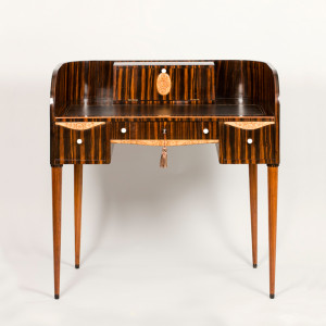 An exquisite Art Deco ladies writing desk