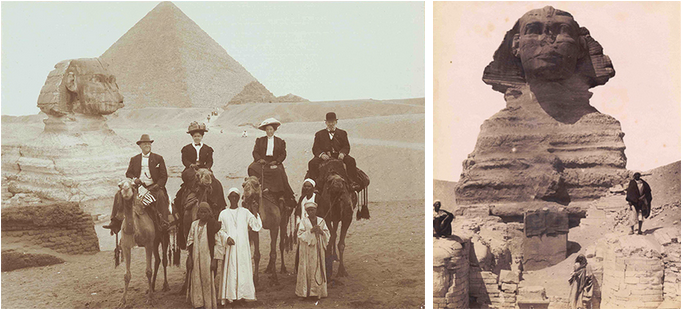 The Riddle of the Sphinx: 19th C. Photographs of Ancient Egypt